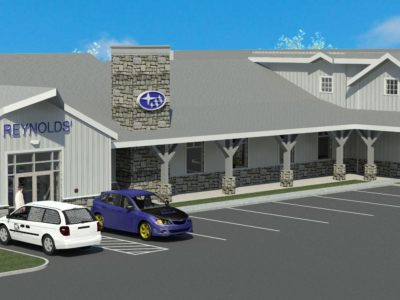 Reynolds' Subaru, Lyme CT, Bruce Hamilton Architects