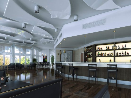 India Center NH, Bruce Hamilton Architects