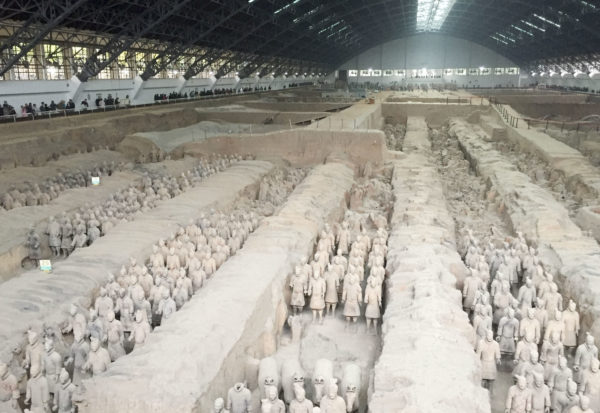 Quin Dynasty Army, Terra Cotta Soldiers, China, BRHA, Bruce Hamilton Architects,